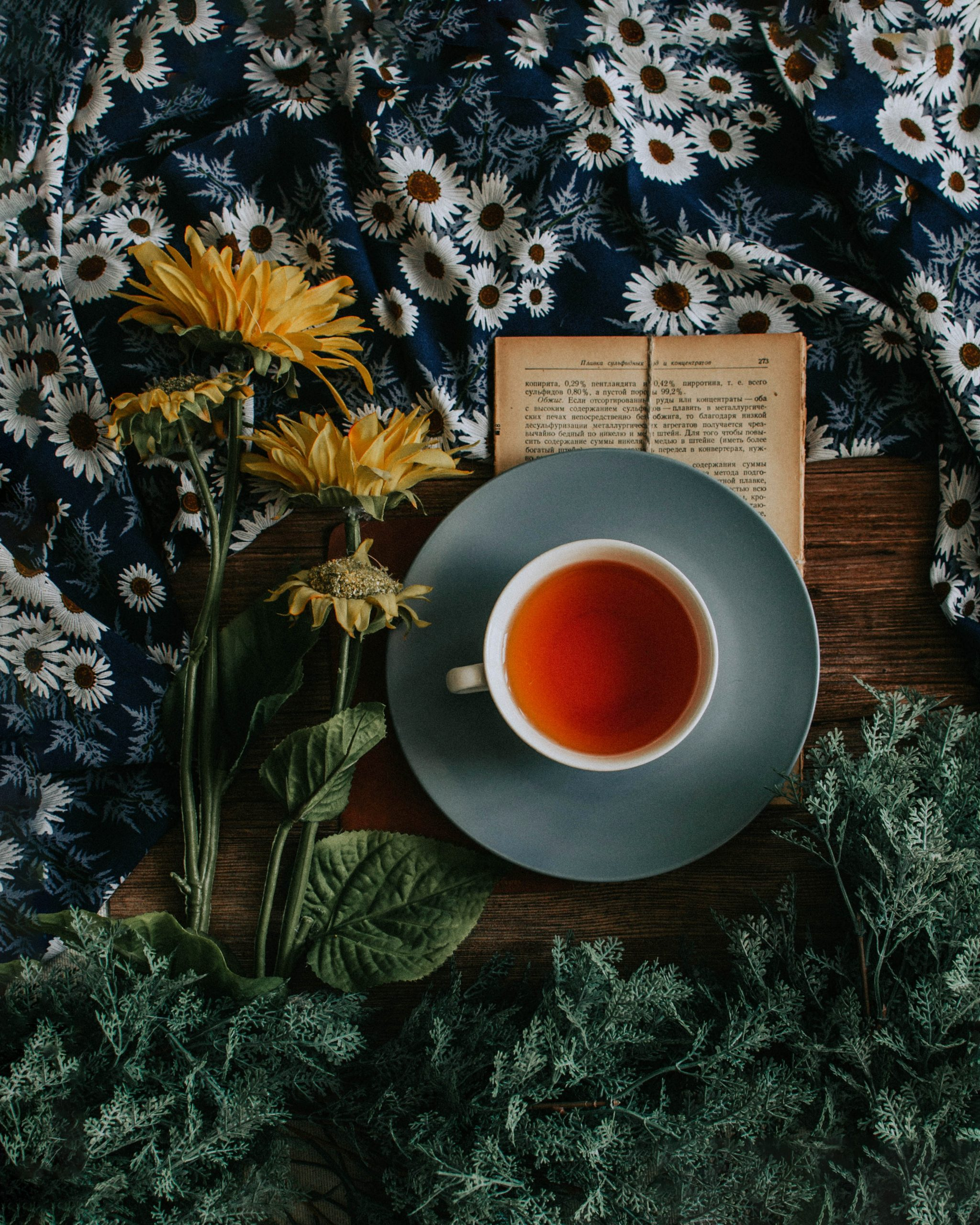 What tea do you serve at a tea party?